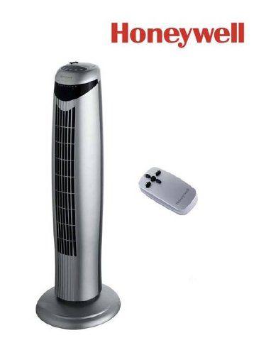 Honeywell HO1100RE Ventilateur Colonne 45 W Argent: Amazon.fr: Bricolage