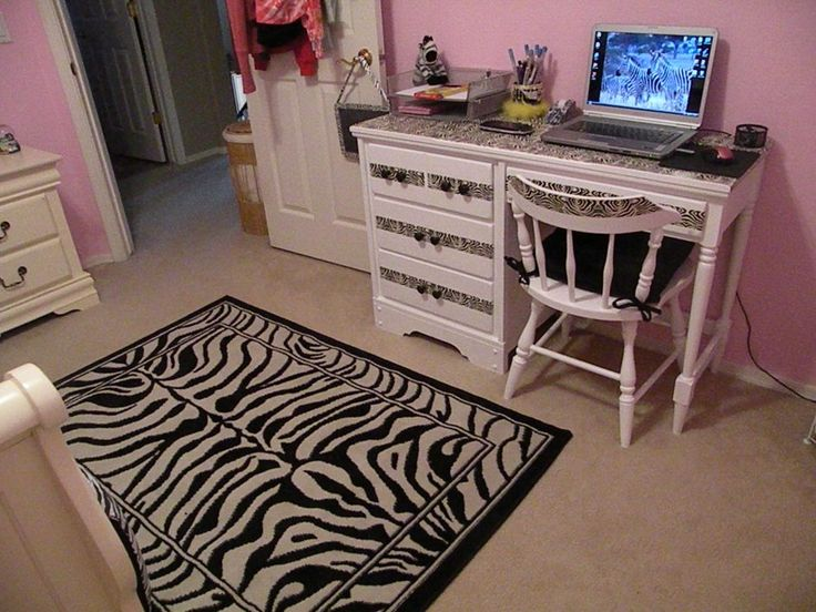 Bedroom Zebra Bedroom Decor By A Designer Touch On The Room Furniture With A Thoughtful Pink Color Zebra Bedroom Decor For Your House