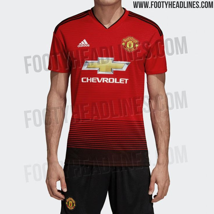 Footyheadlines Manchester United 2018 19 Season Home Kit: Teamwear Images On Pinterest