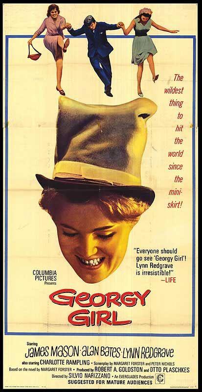 Georgy Girl - My teenage love of old sixties kitchen sink dramas.