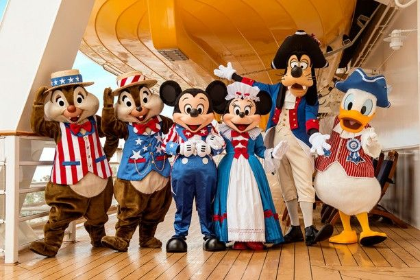 4th of july in disney world 2016