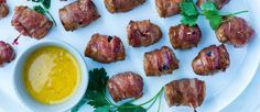Maple Bacon Beer Brat Bites