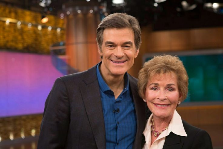 Dr. Oz and Judge Judy