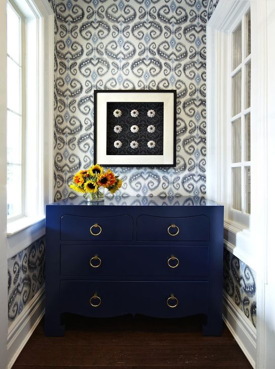 Indigo Blue Painted Furniture