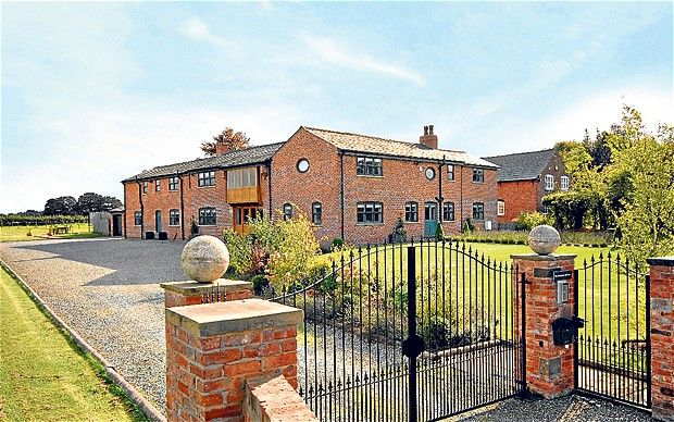 On The Property Market: Top Ten Barn Conversions   Telegraph.