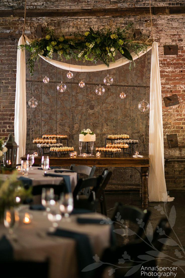 Atlanta Industrial Warehouse Wedding Reception Venue
