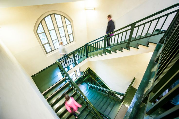 interiors, stairs, old printing-house, Poznań, conferences