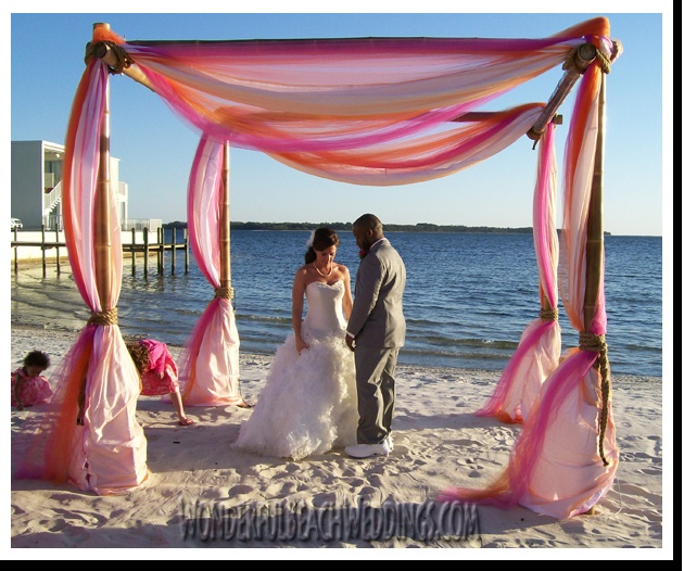 This is a local wedding and event rental company in Panama City Florida. I designed their site for them.    Are you getting married and would like to get married in Panama City Beach? Give them a call at 850-785-4280.