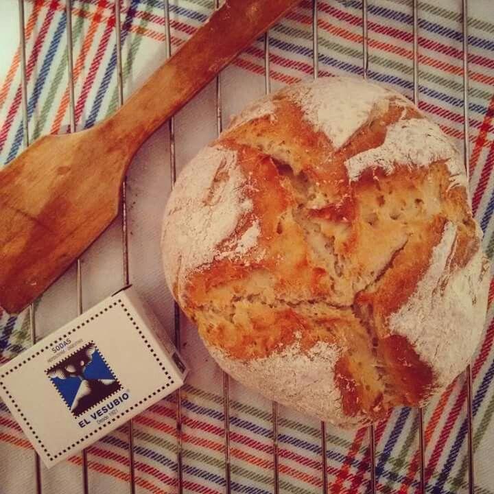 Pan de soda irlandés. Receta en el blog www.gastrocooltural.com