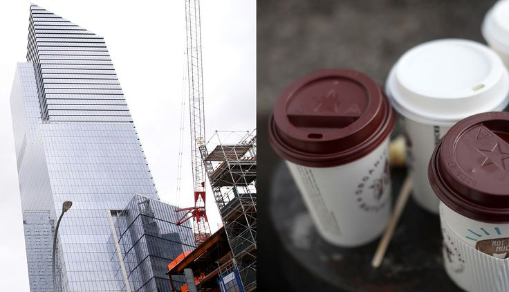 FOX NEWS: Union coffee boys pulled in over $42 an hour working Hudson Yards project lawsuit charges