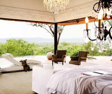 Celebrities' Secret Winter Vacation Spots: Molori Safari Lodge, South Africa