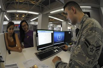 How to do virtual roll call for space a flights at Kadena AFB Okinawa 733rd AMS gives Space an A