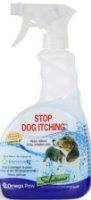 Stop Dog Itching  - is specially formulated with RemoveRx® to help clean, disinfect and relieve your dog's itchy and irritated skin. Stop Dog Itching targets bacteria, viruses, mold, yeast, fungi, germs and other irritants on the dog's body, legs, behind, and paws.