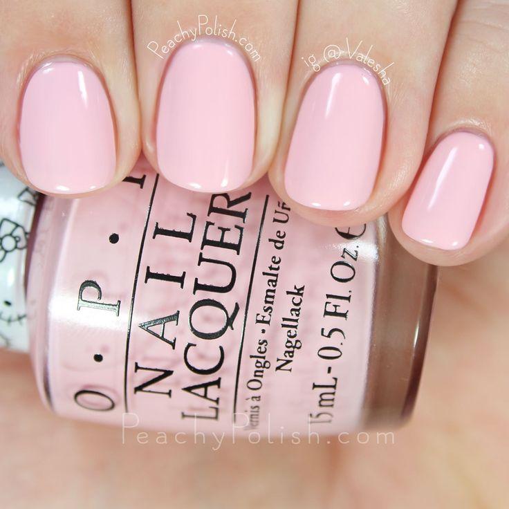 OPI Small + Cute = ♥ | Hello Kitty Collection | Peachy Polish