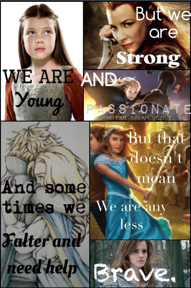 Girls! Harry Potter, lord of the rings, the land of stories, keeper of the lost cities, narnia