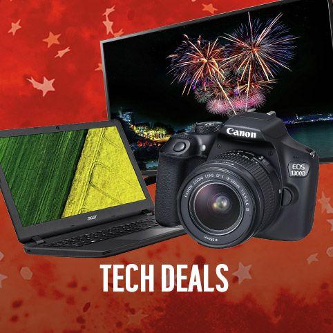 The tech sale.