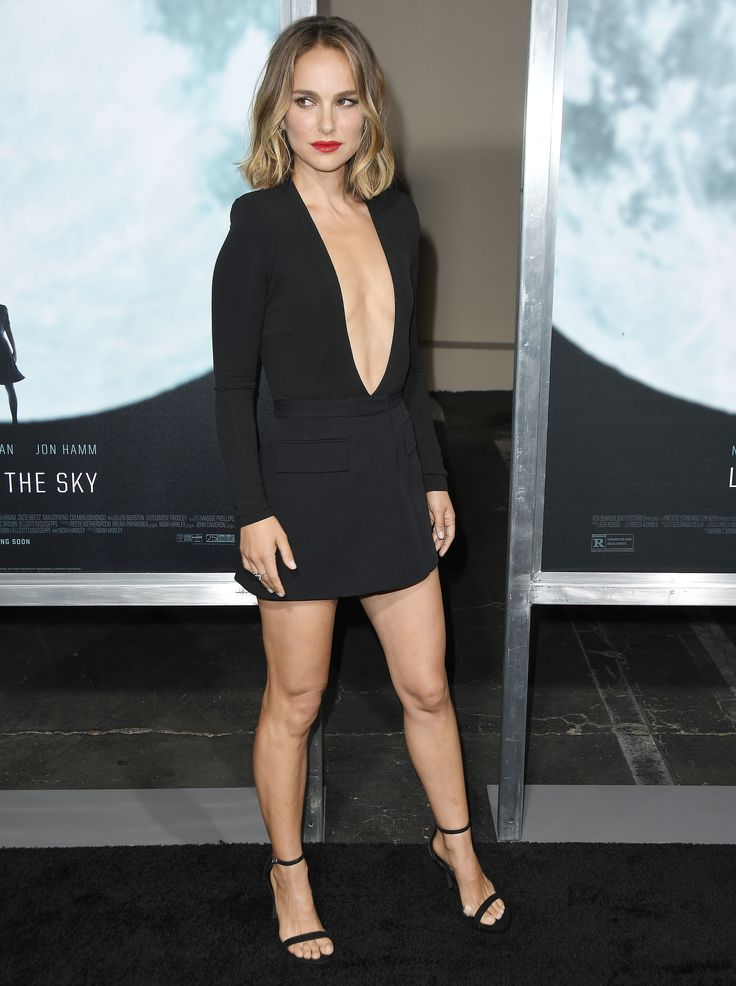 Natalie Portman attended the premiere of Lucy in the sky