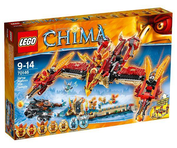 Det flyvende føniks-ildtempel - 70146 - LEGO Legends of Chima