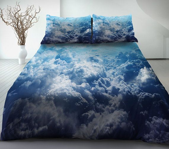 Cloud Bedding Set Cloud Duvet Cover Cloud Bed Sheet And