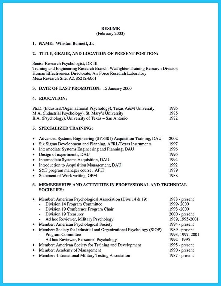 awesome Learning to Write a Great Aviation Resume, Check more at - industrial organizational psychologist sample resume