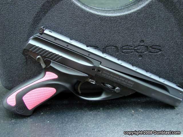 Beretta's New Pink U22 Neos .22 Long Rifle Auto Pistol