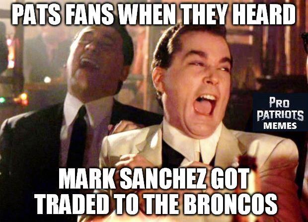 #Patriots #Broncos #Sanchez