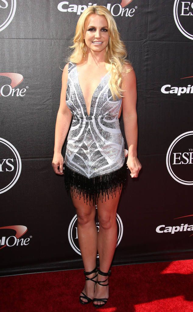 "Brittney Spears what eonline had to say: ""All the eyes on me in the center of the ring, Just like a circus, When I crack that whip, everybody goin' trip, Just like a circus"" Or is she pulling off a new Dallas Cowboys Cheerleader one-piece? This is the ESPYs after all. Whatever it is, we hate it."