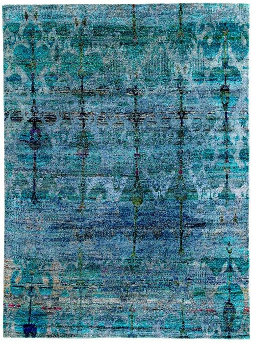 Silk & Kudan silk rugs by Loom Rugs (Melbourne), Zollanvari (Embrach, Switzerland) & ABC Home & Carpet (New York). | Decanted:
