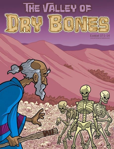 The Stories Of Bible Valley Dry Bones