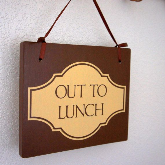 Out to Lunch / Out on Delivery Double Sided by Frameyourstory, $29.99