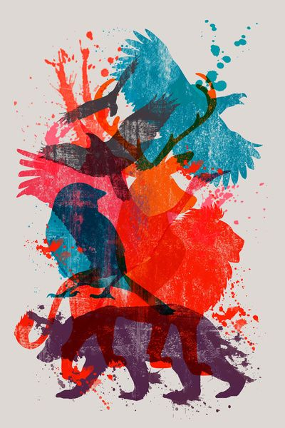 It's A Wild Thing - Art Print by Dan Elijah G. Fajardo