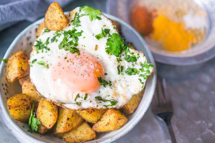 Culy Homemade: gebakken Bombay aardappeltjes