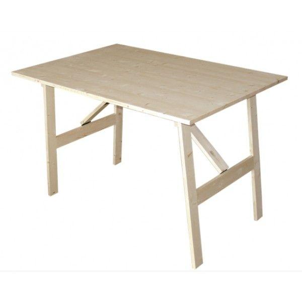 M s de 1000 ideas sobre mesas plegables de madera en - Mesa plegable madera ...