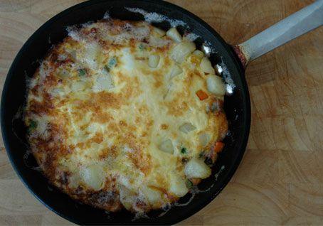 Mixed Vegetable Frittata