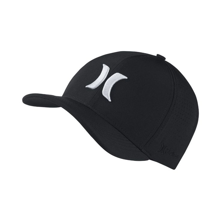 Hurley Phantom Vapor 3.0 Men's Fitted Hat Size Large/XL (Black)