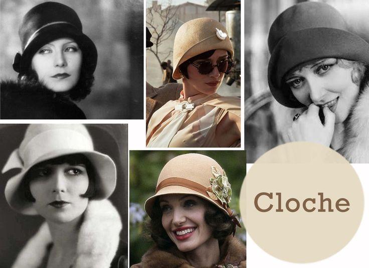cloche - cappelli vintage -  milano vintage week -  the peter pan collar - blog