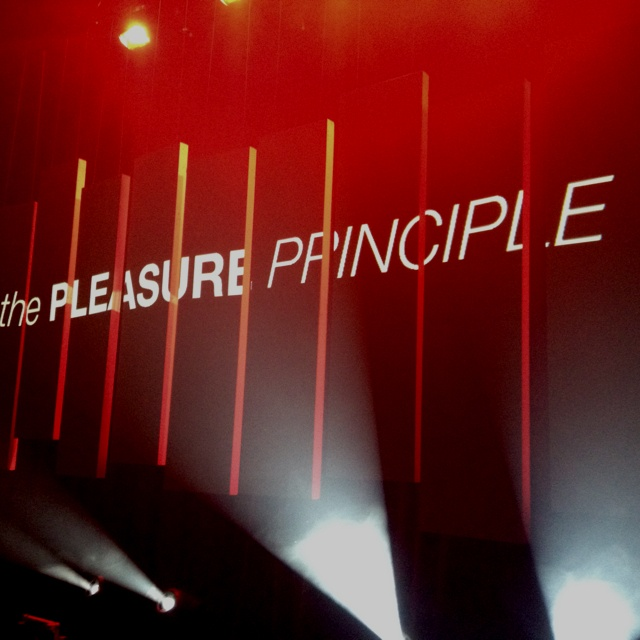 """Plotting for """" the pleasure principle"""" at gasworks theatre this week."""