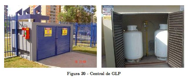Bombeiroswaldo: Instalações prediais de gás liquefeito de petróleo ( GLP ) - Limites de inflamabilidade do GLP ( butano, propano e mercaptantes ) - Forma de armazenamento do GLP - Recipientes transportáveis e estacionários - Sistema canalizado de gás - Central de GLP enterrada e aterrada - Registro de corte central e em medidores - Esquema das Instalações de gás - Válvula Reguladora de pressão do Regulador do gás - Tem como finalidade reduzir a pressão e regular a vazão do gás do botijão…