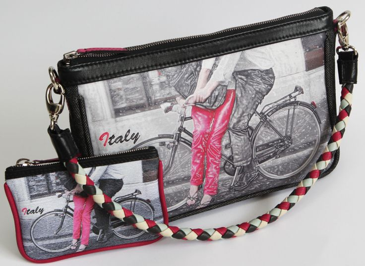 self designed handbag, bicycle no.1
