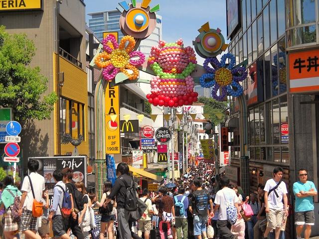 Takeshita Street, Harajuku Station, Tokyo