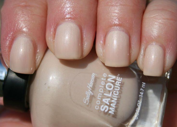 sally hansen complete salon manicure in almost almond 3. Black Bedroom Furniture Sets. Home Design Ideas