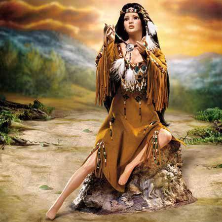 Ashton Drake Quot Legend Of The Apache Teardrop Quot Native
