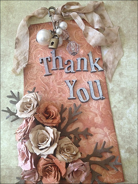 Ink+Flour: thank you tag http://inkandflour.blogspot.com/2013/05/happy-international-scrapbook-day.html