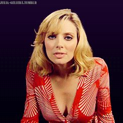 GIF April Bowlby The Kiss and a Lick