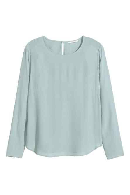 Bluză din ţesătură crep