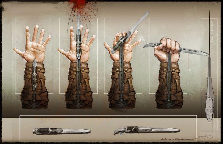 Mechanics of Hidden Blade