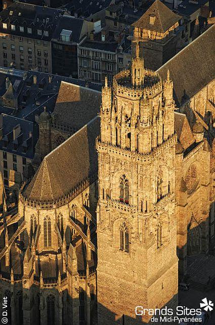 Rodez - (Cathédrale Notre-Dame) Aveyron