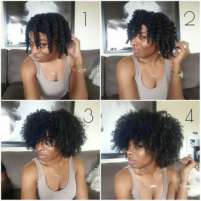 how to make a perfect ponytail with natural hair