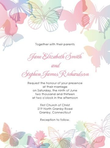 67 Lovely Free Printable Wedding Invitations | visit www.freetemplateideas.com