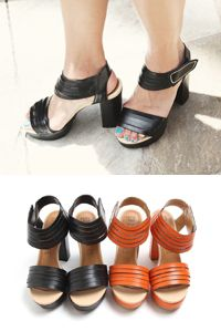 SD_1305_SH042 4 stripes sandal heels